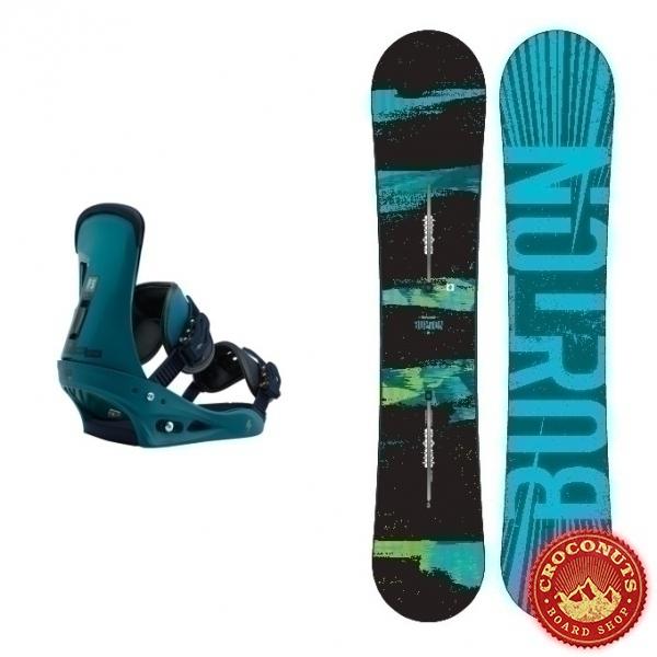 Pack Burton Ripcord + Burton Freestyle Mariner Green 2018