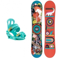 Pack Burton Genie + Burton Citizen The Teal Deal 2018 pour femme, pas cher