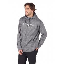 Sweat Burton Oak Full Zip True Black Heather 2018 pour homme, pas cher