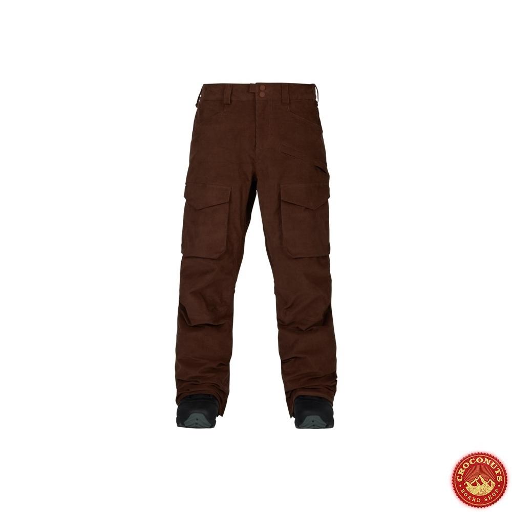 Sur 30 Chestnut Cher Burton Cord Hellbrook Snowboard Pantalon Pas aHwHAdxq