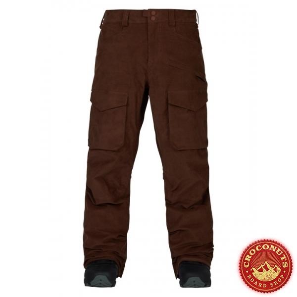 Pantalon Burton Hellbrook Chestnut Cord 2018