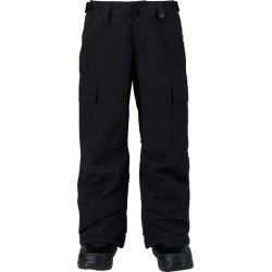 Pantalon Burton Exil Cargo True Black 2018 pour junior, pas cher