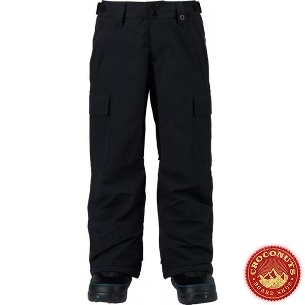 Pantalon Burton Exil Cargo True Black 2018