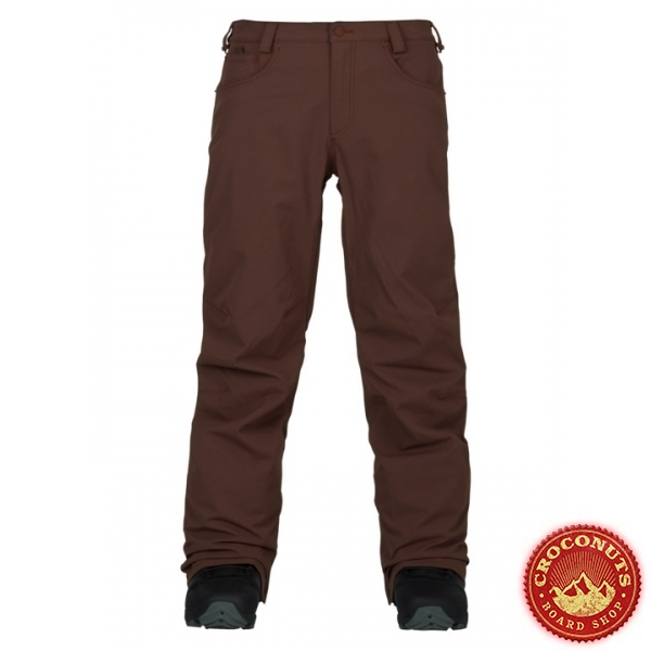 Pantalon Burton Wolfeboro Chestnut 2018
