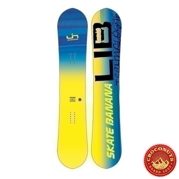 Board Lib Tech Sk8 Banana BTX Yellow 2018