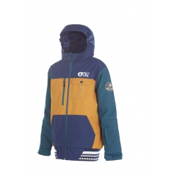 Veste Picture Balme Kid Camel Dark Blue 2018 pour junior, pas cher