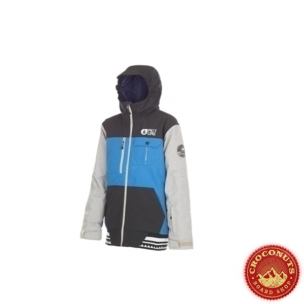 Veste Picture Balme Kid Blue Black 2018
