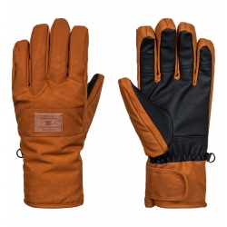 Gants DC Franchise SE Leather Brown 2018 pour homme