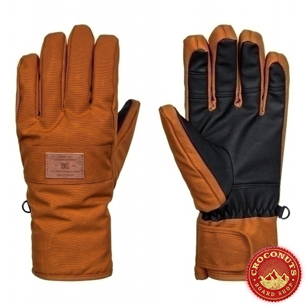 Gants DC Franchise SE Leather Brown 2018