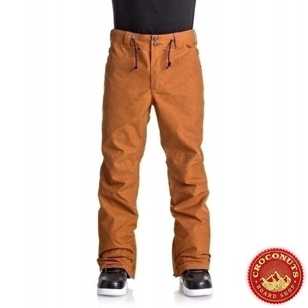 Pantalon DC Relay Waxed Leather Brown 2018