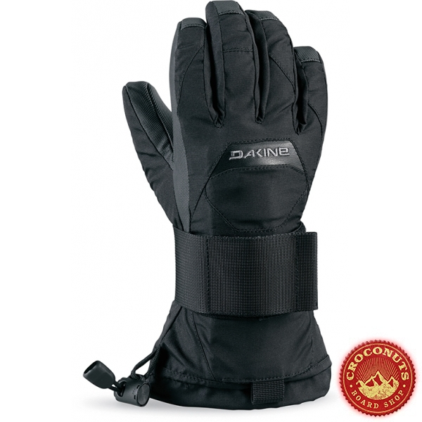 Gants Dakine Wristguard Junior Black 2018