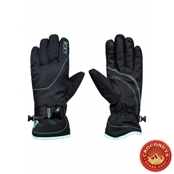 Gants Roxy Jetty Solid True Black 2018
