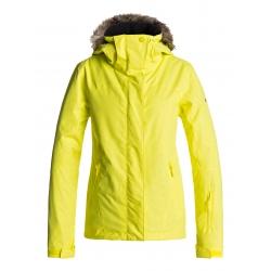 Veste Roxy Jet Ski Solid Lemon Tonic Gana Emboss 2018 pour femme