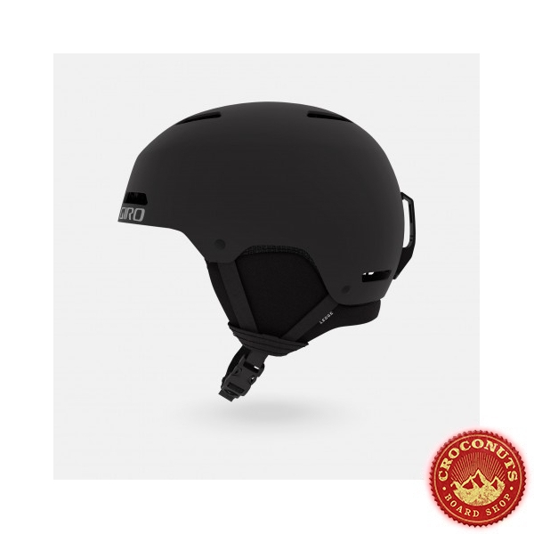 Casque Giro Ledge FS Mat Black 2020