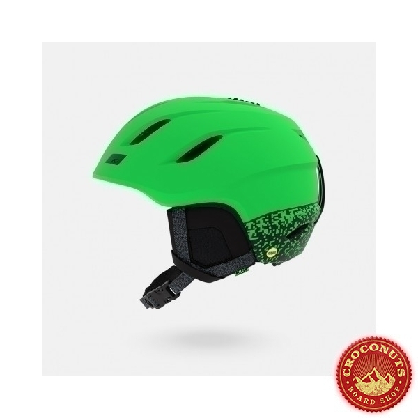 Casque Giro Nine Mat Bright Green 2019