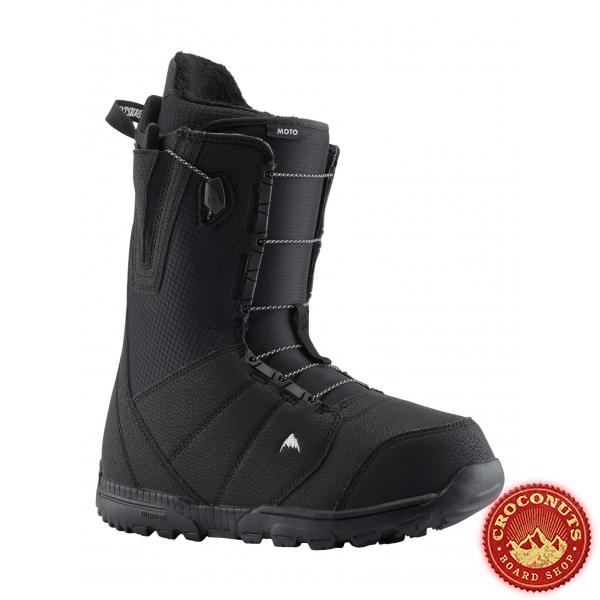 Boots Burton Moto Black 2019