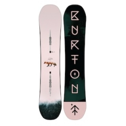 Board Burton Yeasayer Flat Top 2019 pour femme, pas cher