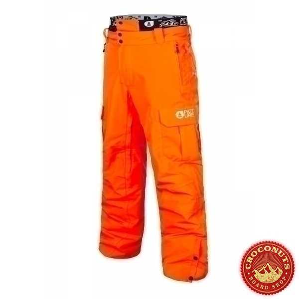 Pantalon Picture Panel Orange 2019