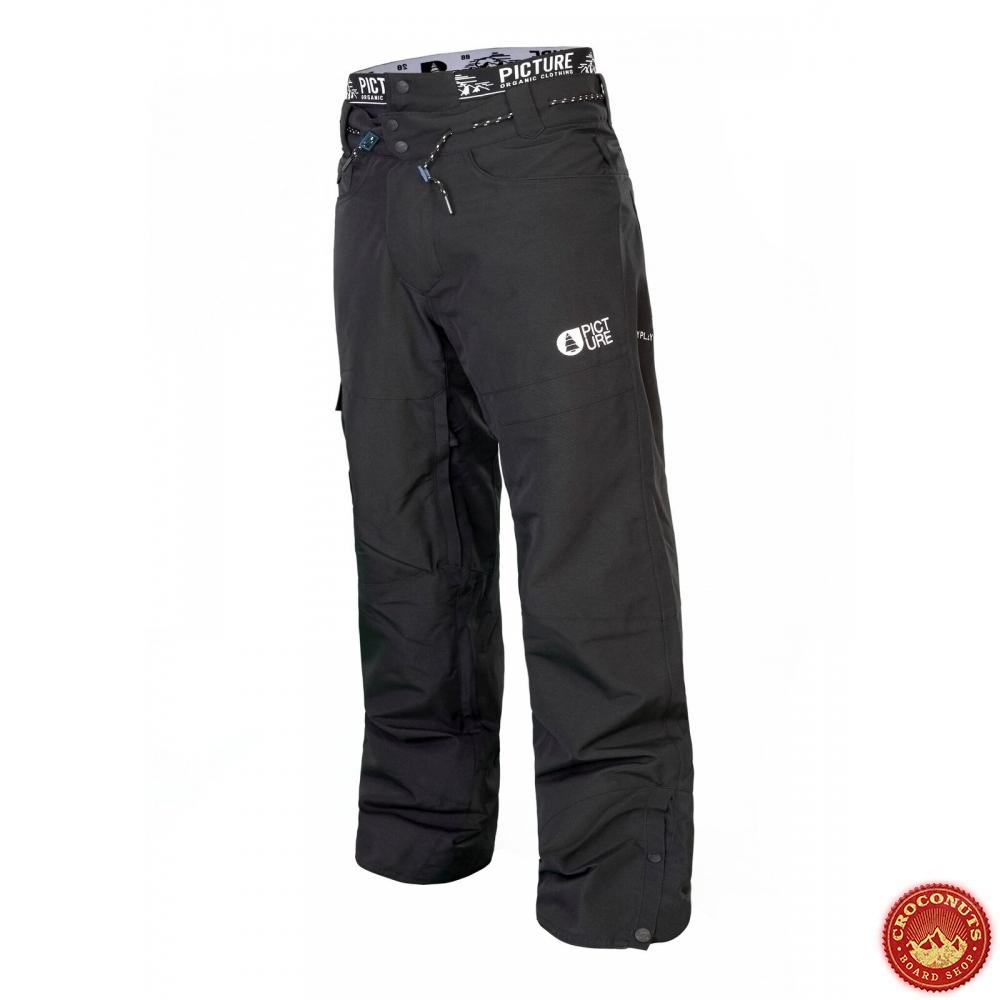 utterly stylish wide varieties better Pantalon Picture Under Black 2019