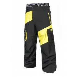 pantalon Picture Alpin Fluo Yellow 2019 pour