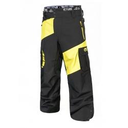 Pantalon Picture Alpin Fluo Yellow 2019 pour homme, pas cher