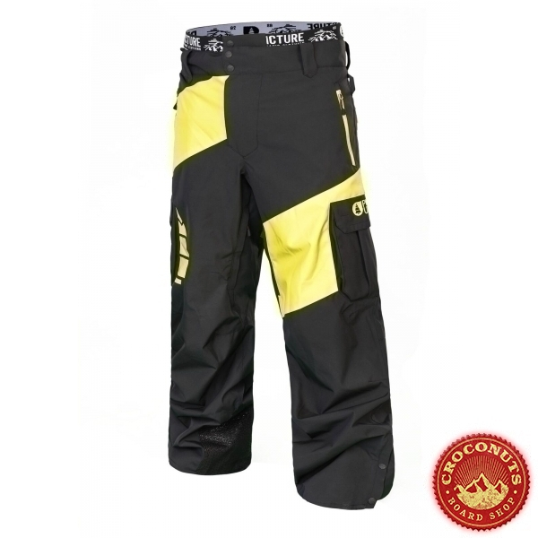 Pantalon Picture Alpin Fluo Yellow 2019