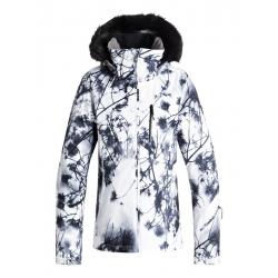 veste Roxy jet ski premium bright white pure sky 2019 pour femme