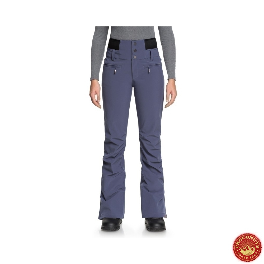 timeless design low price sale new specials pantalon Roxy rising high crown blue 2019