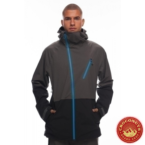 veste 686 hydra termagraph charcoal clrblck 2019