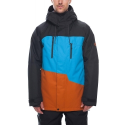 veste 686 geo insulated bluebird 2019 pour homme, pas cher