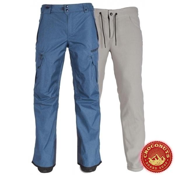 pantalon 686 smarty cargo bluesteel 2019