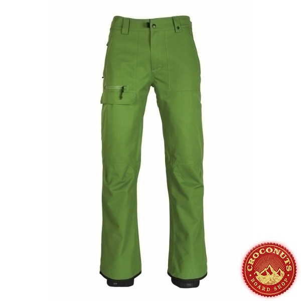 pantalon 686 vice shell camp green 2019