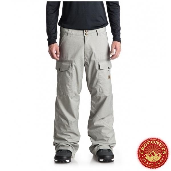 Pantalon DC Shoes Code Neutral Grey 2019