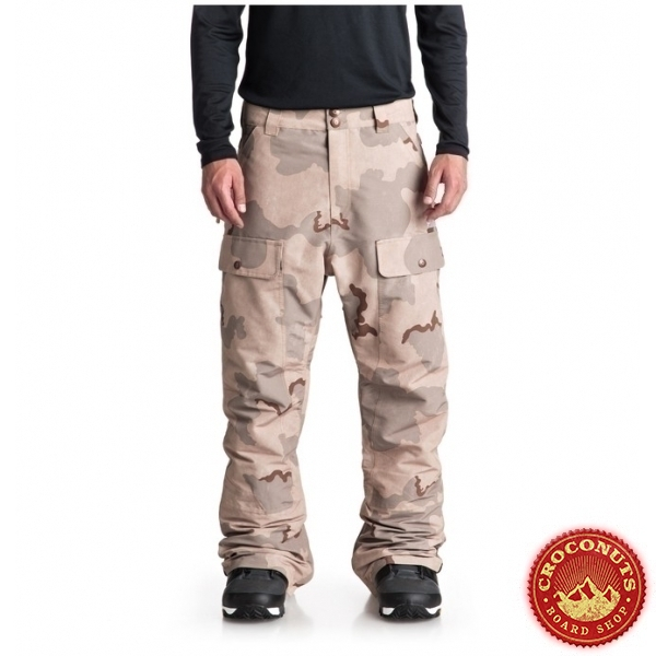 Pantalon DC Shoes Asylum Incense Camo 2019