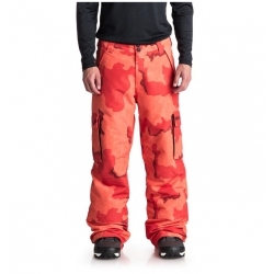 pantalon DC Shoes banshee red camo orange red 2019 pour homme