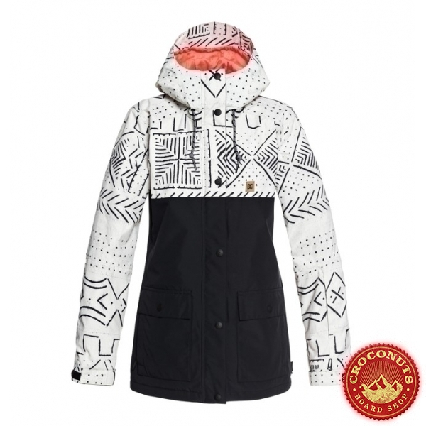 veste DC Shoes Women silver birch 2019