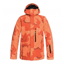 Veste DC Shoes Ripley Red Orange Camo 2019 pour homme, pas cher