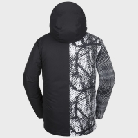 Veste Volcom 17 Forty Insulated Black White 2019