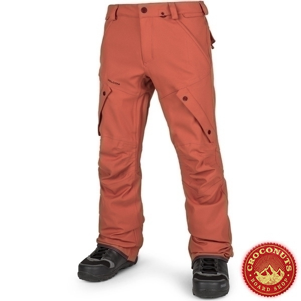 pantalon Volcom articulated orange 2019