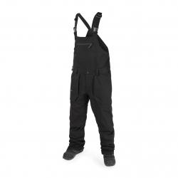 Pantalon Volcom Roan Bib Overall black 2019 pour homme, pas cher