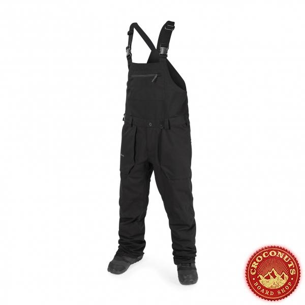 Pantalon Volcom Roan Bib Overall black 2019