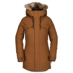 Veste Volcom Shadow Insulated Copper 2019 pour femme, pas cher