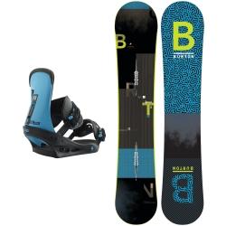 Pack Burton Ripcord + Burton Freestyle Cobalt Blue 2019 pour homme, pas cher