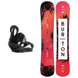 Pack Burton Hideaway + Burton Citzen Black 2019 pour femme, pas cher