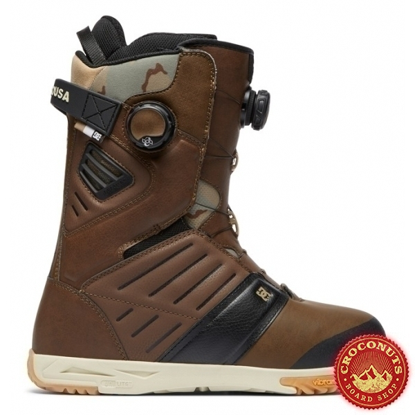 Boots DC Shoes Judge Boa Brown 2019
