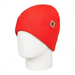 Bonnet DC Shoes Anchorage Red Orange 2019 pour homme, pas cher