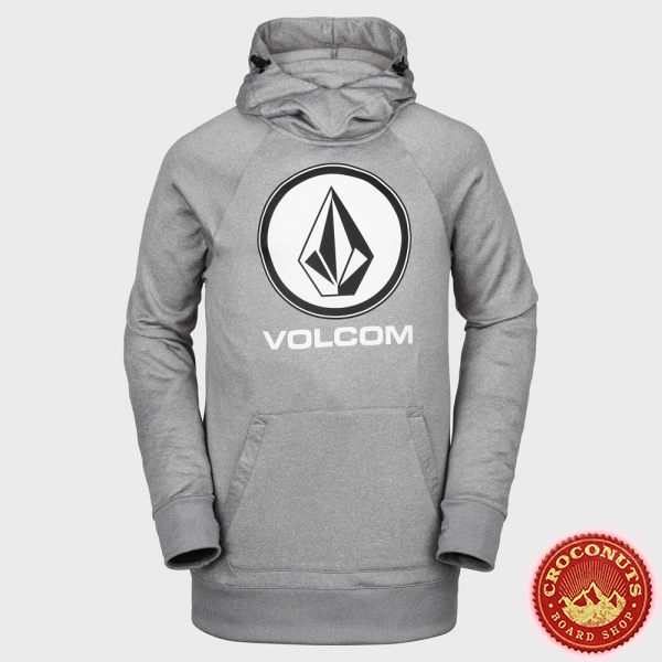 Midlayer Volcom Hydro Riding Heather Grey 2019