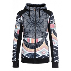 Midlayer Roxy Frost Printed True Black Pop Star 2019 pour femme, pas cher