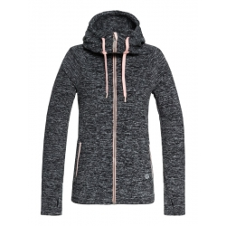 Midlayer Roxy Electric Feelin Charcoal Heather 2019 pour femme, pas cher