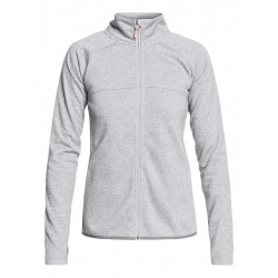 Midlayer Roxy Harmony Shimmer Warm Heather Grey 2019 pour femme, pas cher